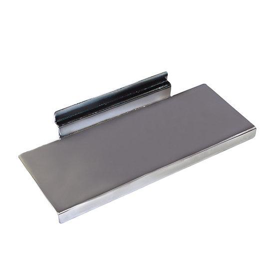 Metal Flat Slatwall Shelves