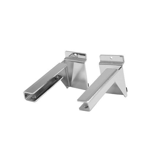 Metal Glass Shelf Brackets