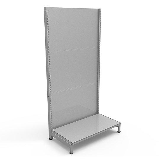 Metal Pegboard Ideas Display Stand (Pegboard back panel)