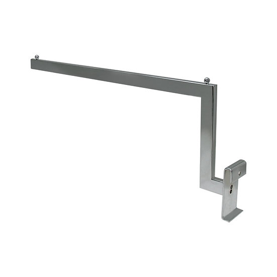 Metal Step Arm for Grid Panel Stand
