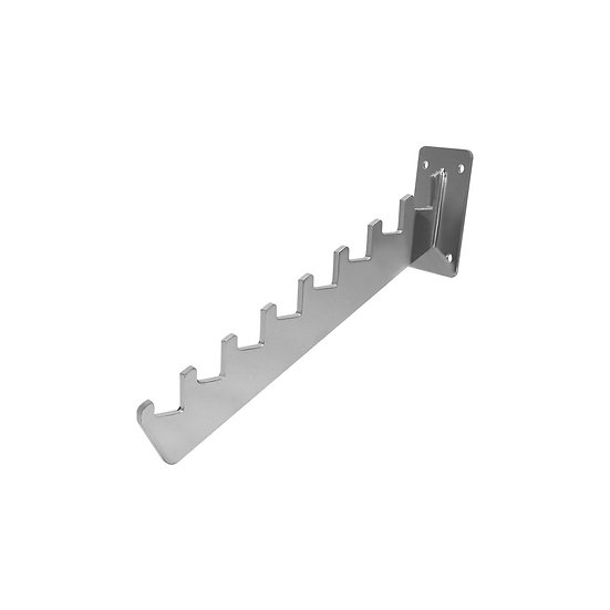 Wall Mounted Slant Arm with Notches