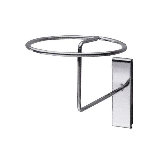 Metal Hat Display for Mesh Panel Stand