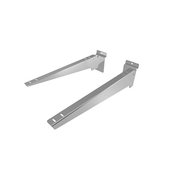 Metal Slatwall Shelf Brackets