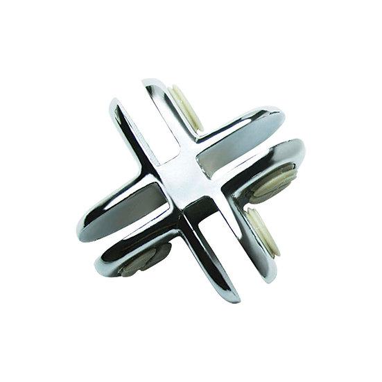 4 Way Metal Cubbie Clip