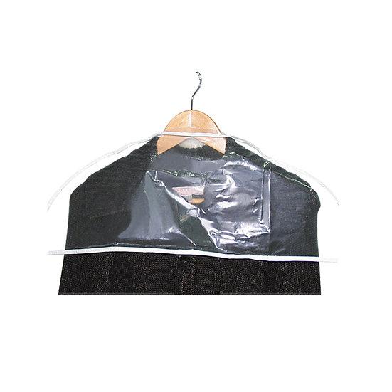 Single Clear Garment Cover