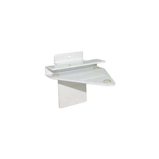 Slatwall Glass Shelf Bracket