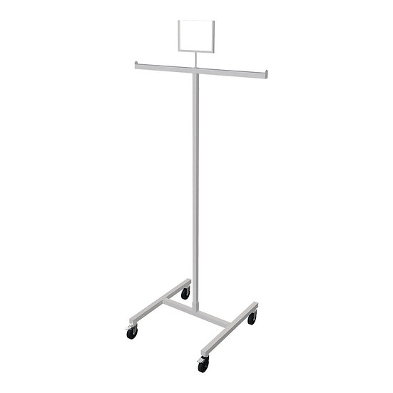 2 Way Rack with Sign Holder