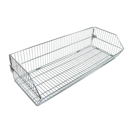 Foldable Basket with SKU Divider