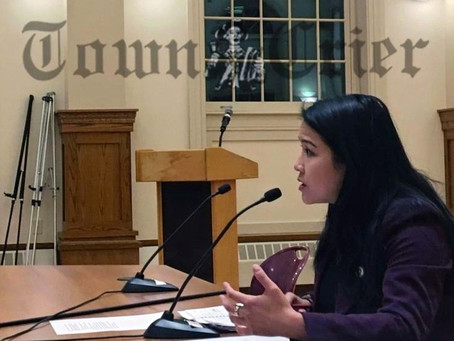 Selectmen meet with Nguyen, review budget