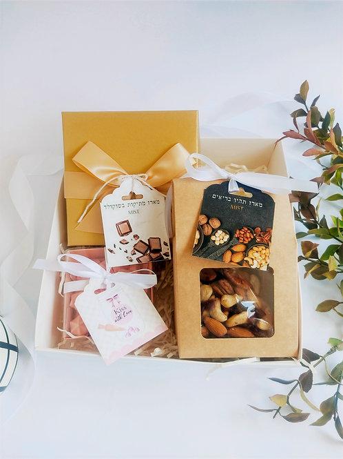 מארז מתוק מלוח בקופסא