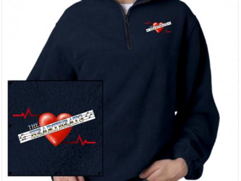 Heartbeats Mens Fleece