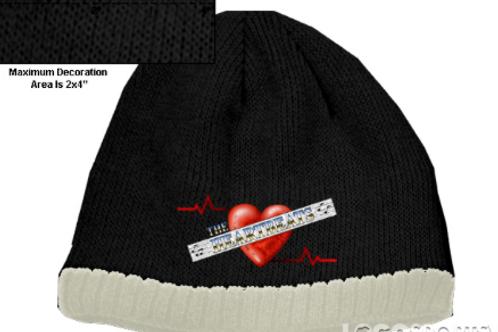 Heartbeats Beanie Cap