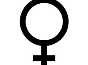download female gender sign black.png