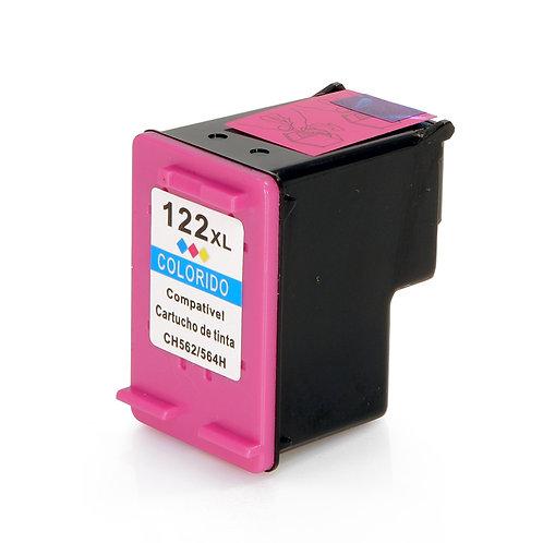 Cartucho HP 122 XL Colorido - Compatível
