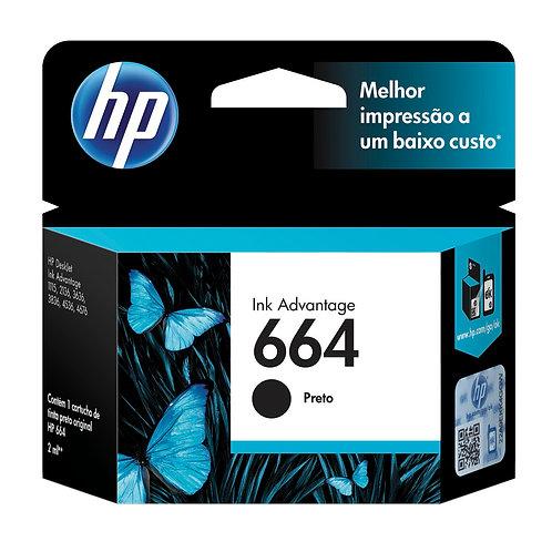 Cartucho HP 664 Preto - Original