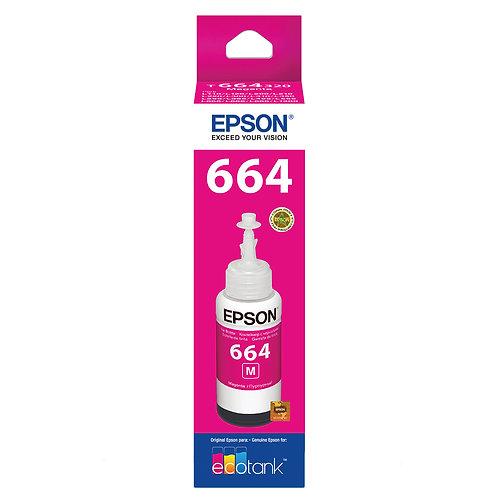 Refil de Tinta Epson T664320 Magenta - Original