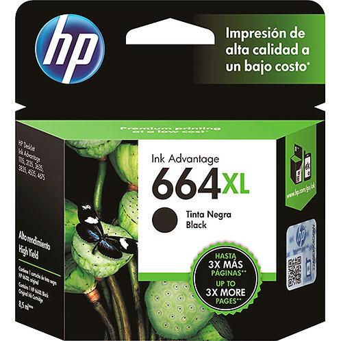 Cartucho HP 664 XL Preto - Original