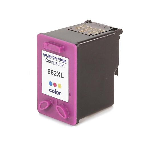 Cartucho HP 662 XL Colorido - Compatível