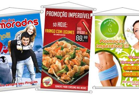 Imprima Banners e Faixas, divulgue a sua marca com qualidade.