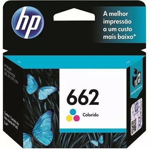 Cartucho HP 662 Colorido - Original