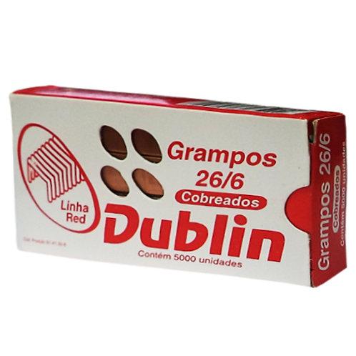 Grampo Cobreado 26/6 Caixa C/ 5000 Dublin ACC