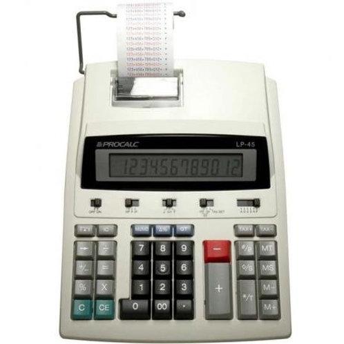 Calculadora De Impressão 12 Dígitos Bivolt Lp45 Procalc