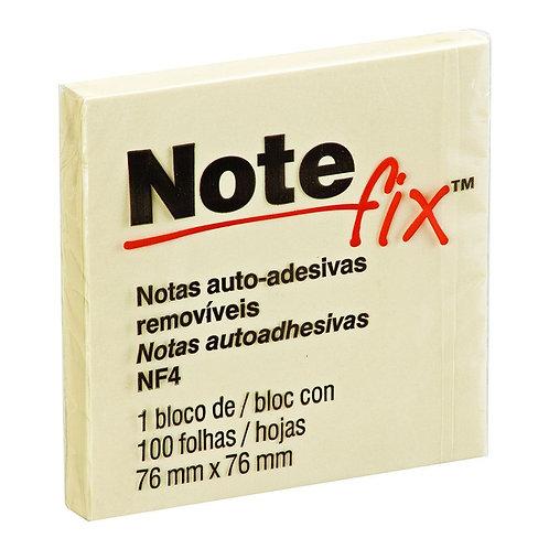 Bloco Adesivo 76x76 Amarelo 100 folhas Notefix 3M