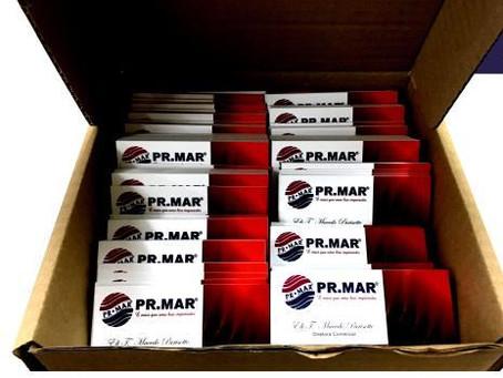 Cartões de Visita PR.MAR