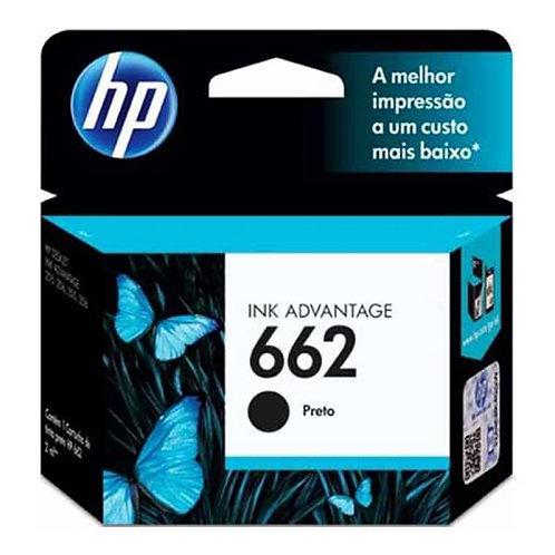 Cartucho HP 662 Preto - Original