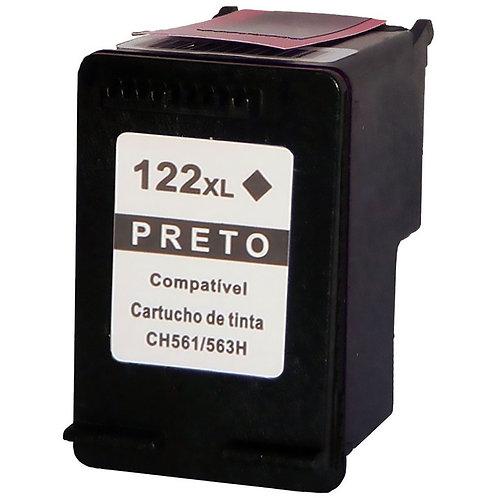 Cartucho HP 122 XL Preto - Compatível