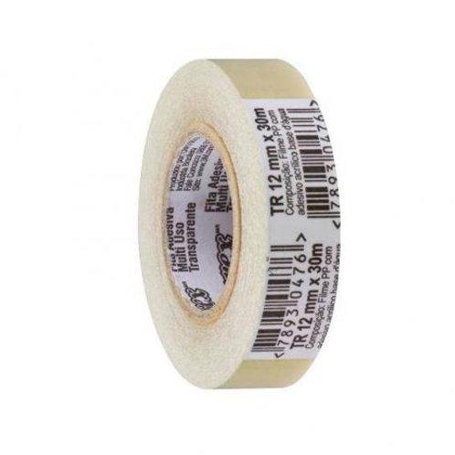 Fita Adesiva Transparente 12mm X 30m - 3M -Pct c/10