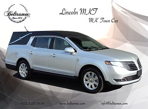 2018_Lincoln_MKT_MK_Town_Car_Silver_fron