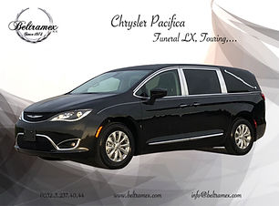 2018 Chrysler Pacifica LX Touring Black