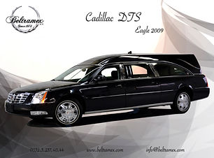2009 Cadillac DTS Eagle Echelon Black fr