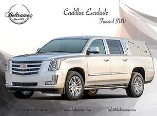 2018 Cadillac Escalade Recovery Funeral