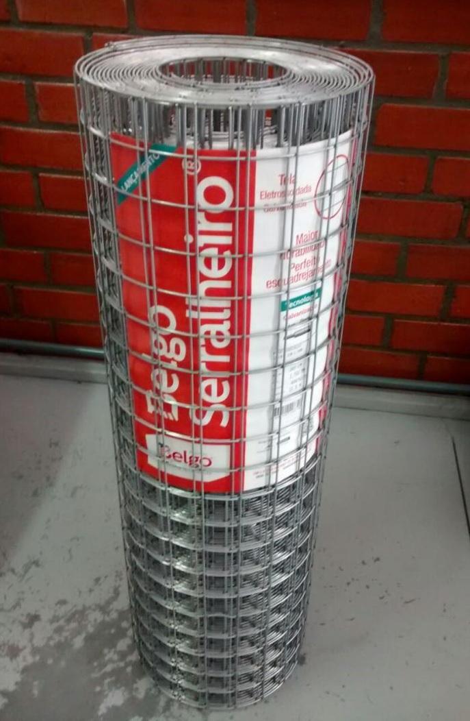 Tela Soldada Galvanizada Belgo Serra
