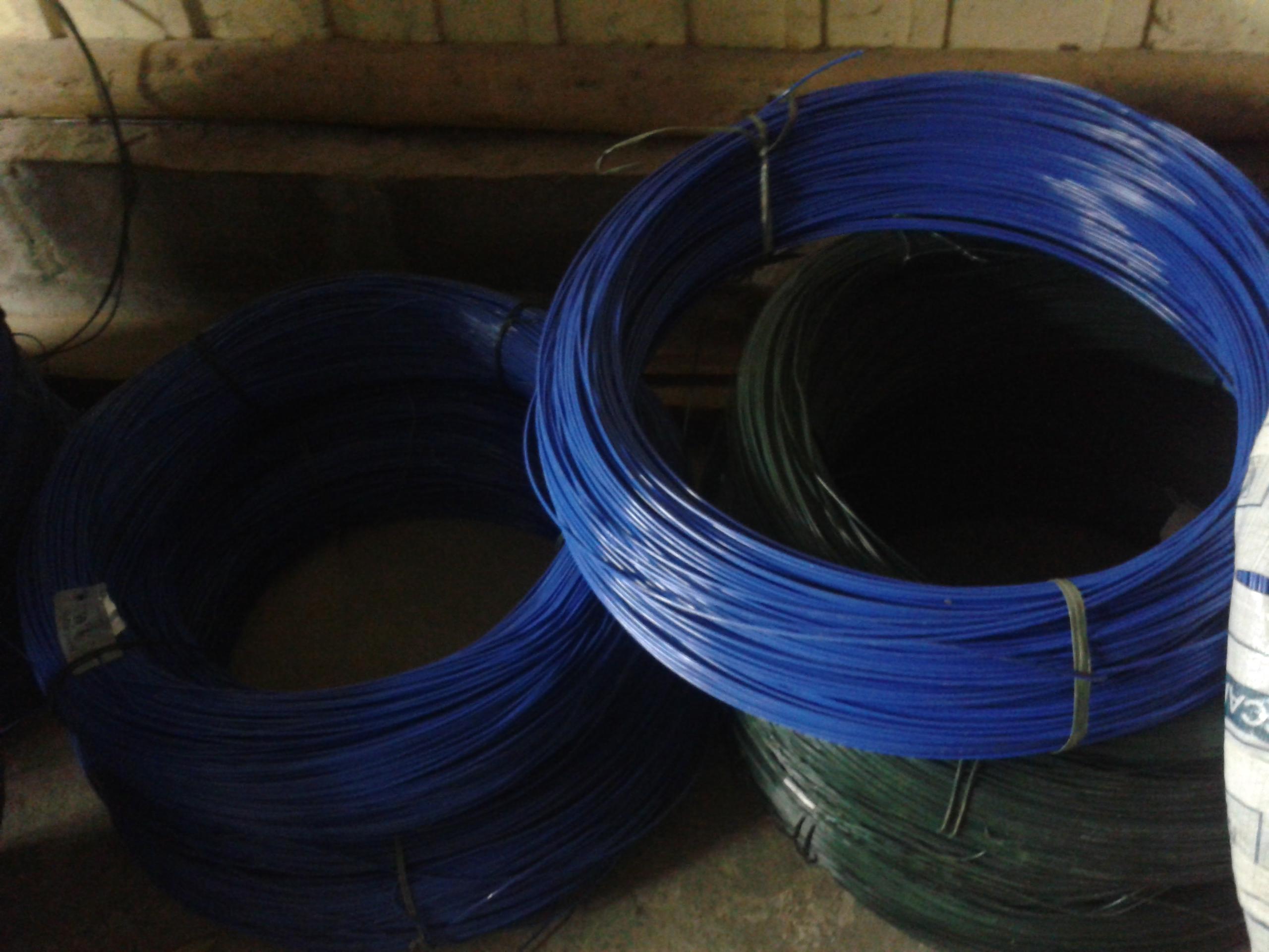 Arame Galvanizado Revestido em PVC