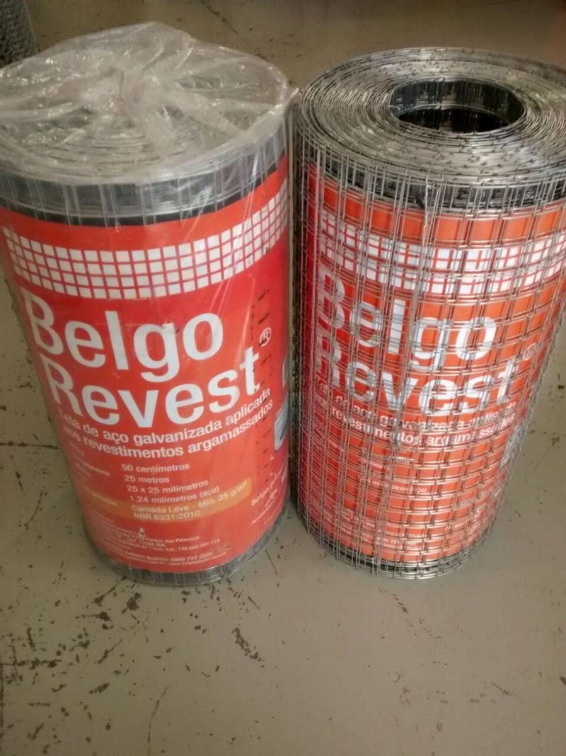 Tela Soldada Galvanizada Belgo Reves
