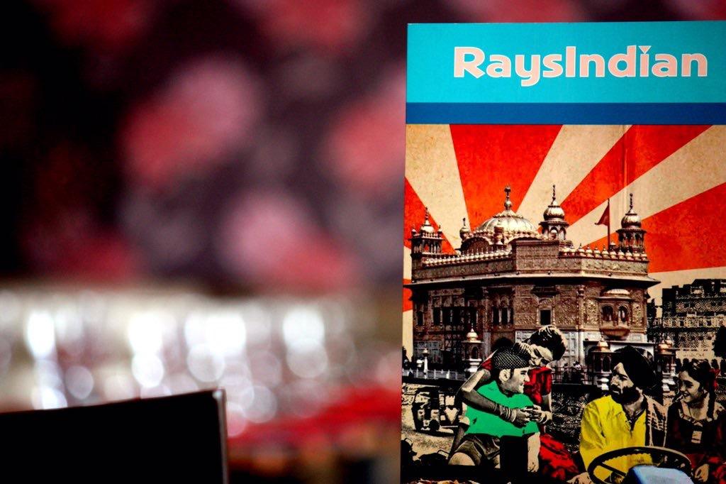 raysindian- menu