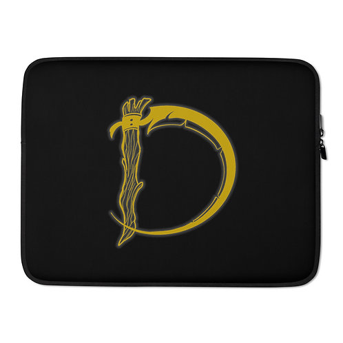 GOLD DMD LOGO Laptop Sleeve
