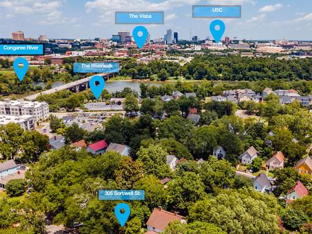 Aerial Images Columbia - Soda City