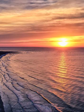 Sunset on Fripp Island Real Estate Photographer