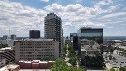 Aerial Picture of Downtown Columbia