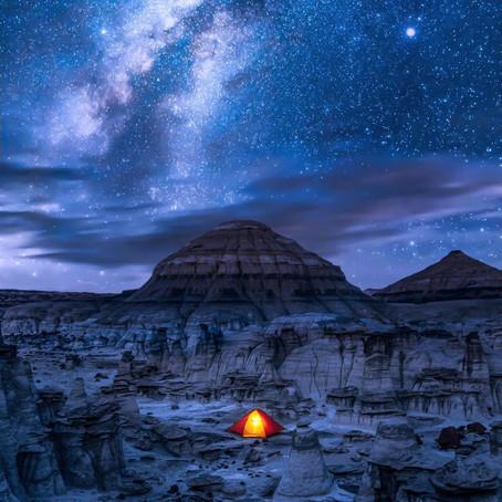 [여행지/뉴멕시코 Bloomfield/자연] Bisti/De-Na-Zin Wilderness