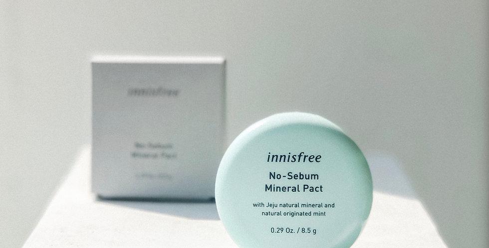 [INNISFREE] No Sebum Mineral Pact
