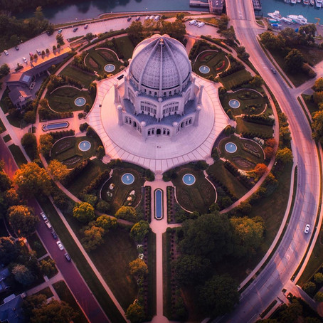 [여행지/일리노이 Chicago/사원] Baha'i House of Worship