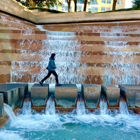[여행지/텍사스 Fort Worth/공원] Fort Worth Water Gardens