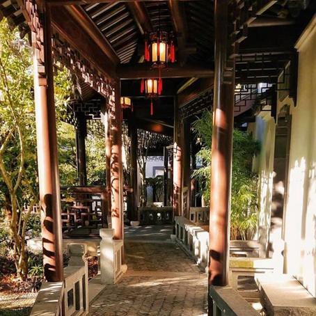 [여행지/오레곤 Portland/식물원] Lan Su Chinese Garden