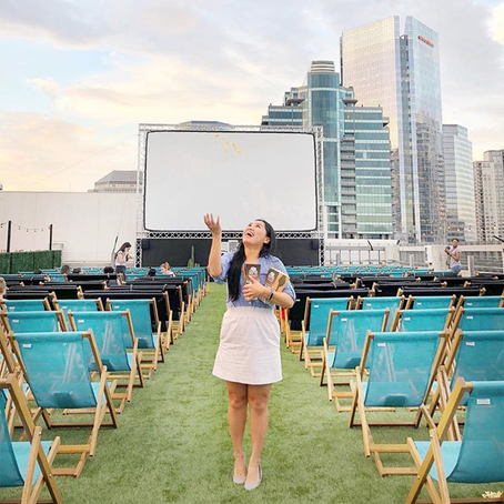 [여행지/텍사스 Houston/영화관] Rooftop Cinema Club