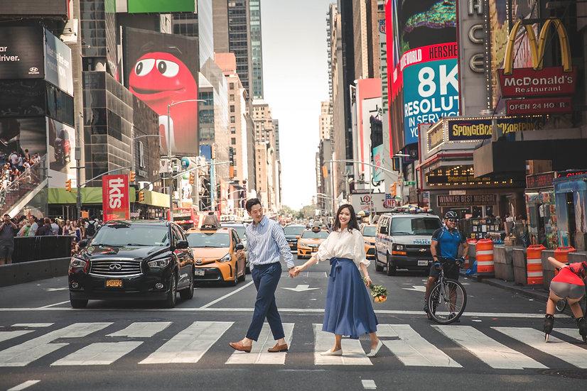 [스냅투어/뉴욕] 뉴욕의 중심 미드타운에서 인생샷 남기기